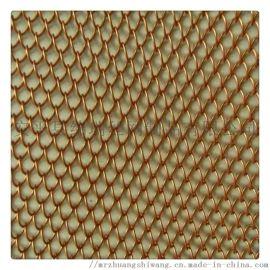 绵瑞金属垂帘装饰网 装饰用金属网帘 金属垂帘