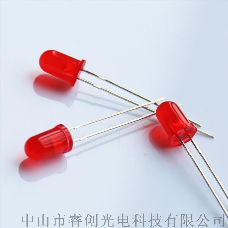 直插LED發光二極管,紅發紅指示燈