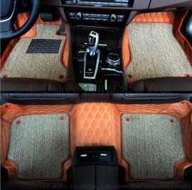 汽车脚垫全包围双层脚垫专车专用皮革脚垫