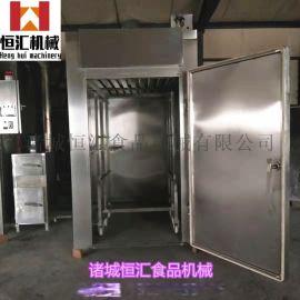 YX-250腊肠烟熏炉 鱼豆腐烟熏炉源头厂家