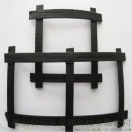 土工格栅100*6加固路基,防止断裂钢塑格栅