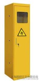 固银实验室钢瓶柜医院气体安全储存柜全钢单瓶气瓶柜GYQP001