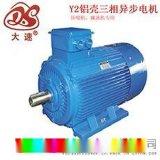 上海大速电机经销商供应Y2系列铝壳三相异步电动机