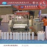 上海盟申500型雙層共擠流延膜機|PE纏繞膜機|PE自裝卸流延膜機