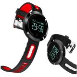 【跨境爆款】圆屏血压心率检测蓝牙运动计步智能手环穿戴工厂直销