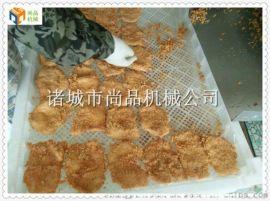 鸡排成型机 鸡排挂糊机 全自动鸡排生产线