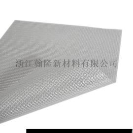 6P环保210D高强纱文件袋专用PVC透明夹网布