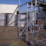 厂家直销铝通架 铝合金脚手架,路灯检修清洁 设外支撑,配件全套