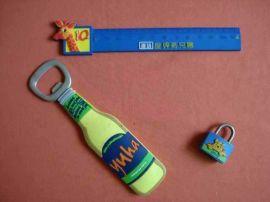 创意pvc软胶卡通logo开瓶器定做,韩系风启瓶器