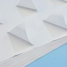 50u白色哑面标签/VOIDOPEN全转不干胶标签/防伪标签/铜板不干胶