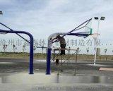 安順廠子供應地埋式籃球架定製 廣場籃球架多錢一副