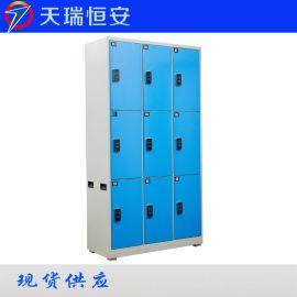 1.0冷轧钢板结实耐用颜色样式可定制自动更衣柜