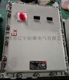 防爆仪表箱 带可视窗 外部按键操作BXMD