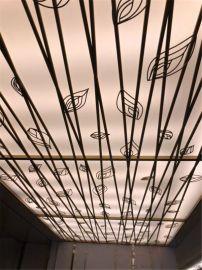 金泰御园门头雕花单板 开发区造型雕花铝单板定制厂家