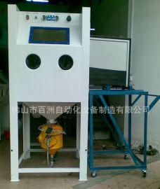 手动喷砂机高压喷砂机箱式除锈加压喷砂机直压式喷砂机