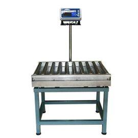 大量供应 自动剔除滚筒电子秤 流水线检重滚筒秤 滚筒输送电子秤