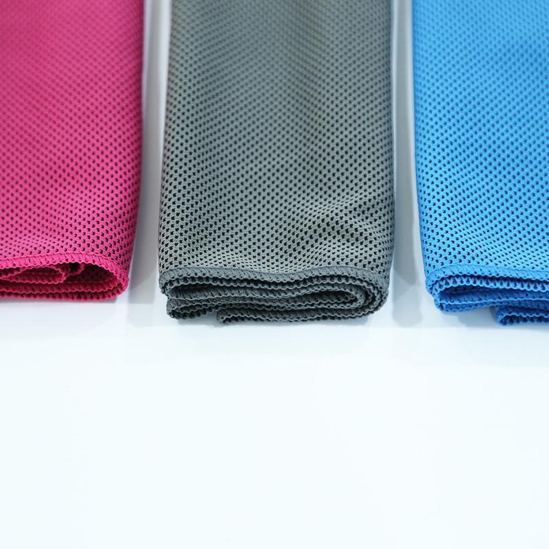 吸汗速幹包邊冰涼巾男女戶外健身跑步瑜伽夏季降溫運動冰感毛巾