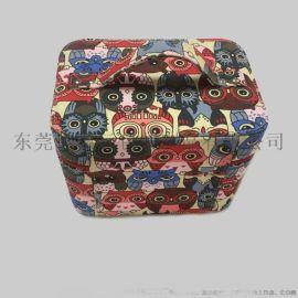 定制時尚卡通化妝箱美妝箱歐美手提彩妝工具收納盒