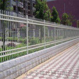 西安围墙铁艺护栏 方管铁艺栅栏工艺围栏