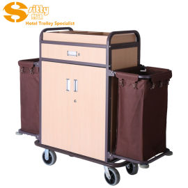 SITTY斯迪99.9814DA酒店客房清洁服务车