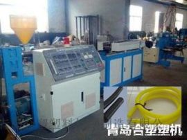 PP/PE/PA单壁波纹管生产线设备的介绍合塑塑机