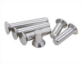 304不锈钢沉头实心铆钉 平头铆钉