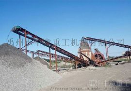 时产80-300吨制砂生产线浙江现场
