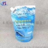 東莞生產2L汽車波璃水吸嘴袋 5升耐酸鹼防凍液包裝