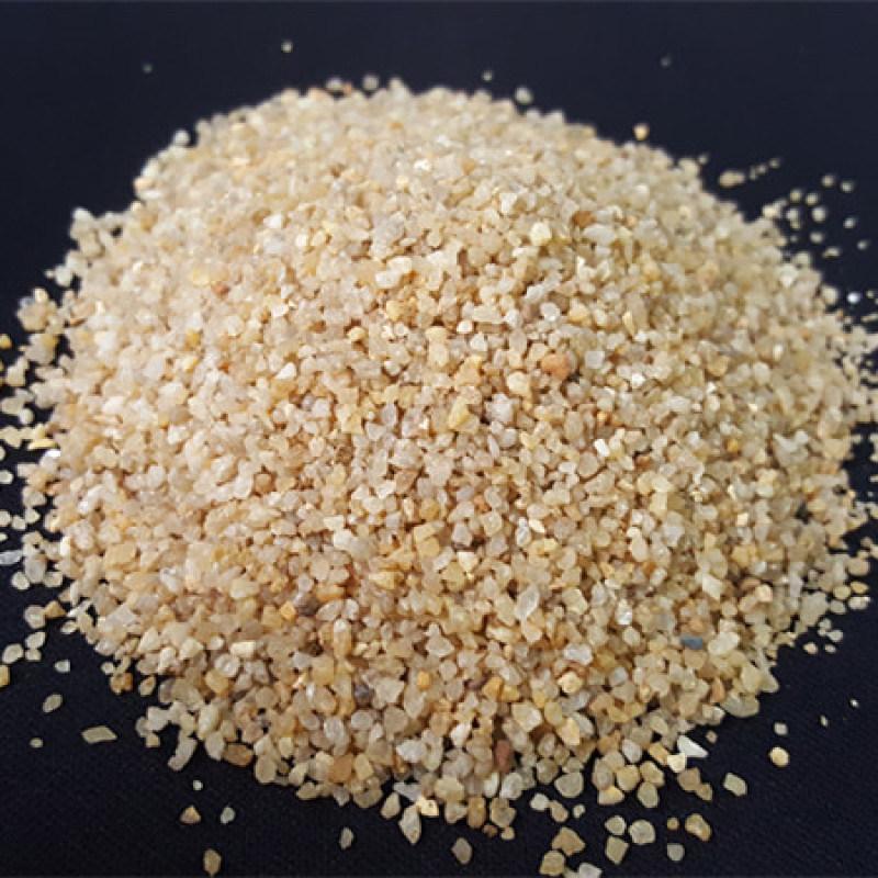 天然石英砂滤料_石英砂滤料价格_重庆石英砂厂家。