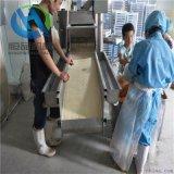 定製節能無骨雞柳上糠機 無骨雞柳裹糠機免費安裝調試
