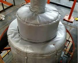 加工定做可拆卸式防火防冻反应釜保温套