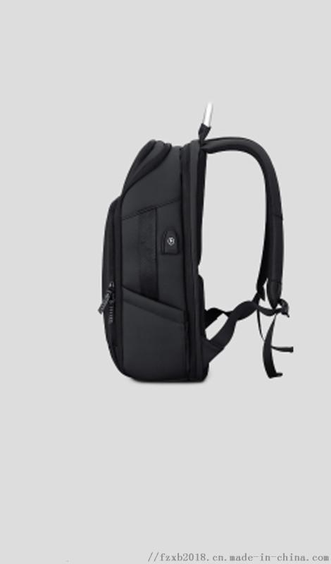 2019工厂直销双肩电脑包USB牛津布双肩包