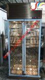 山东不锈钢酒柜,镜面玫瑰金创意艺术不锈钢  柜/压缩机恒温不锈钢酒柜