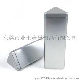 福建安溪专业定制进口磨砂铁三角茶叶罐YS-CF78556