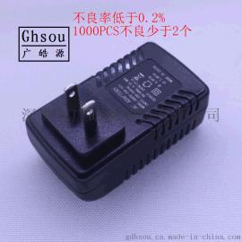 供应无线AP POE24V1A 48V0.5A电源 高品质 中美英澳欧日规适配器
