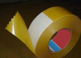 黄纸白色双面胶 ,PVC高粘双面胶