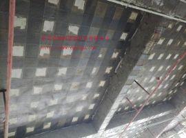深圳某大厦混凝土柱、梁、楼板粘贴碳纤维布加固