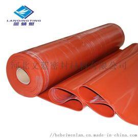 铁红色大红色硅橡胶板 耐高温耐油耐磨硅胶垫