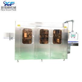 矿泉水灌装生产线设备 冲瓶、灌装、封盖三合一