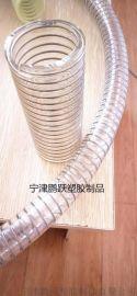 温州聚氨酯食品级pu透明钢丝软管(钢丝缠绕管)