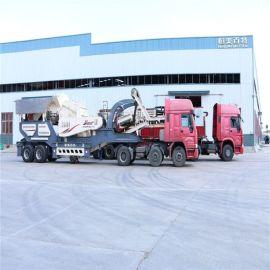 石料厂石灰石碎石机 新型反击式破碎机 建筑垃圾移动式破碎站