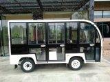 8座封闭式电动观光车 旅游观光车 电动爬山车
