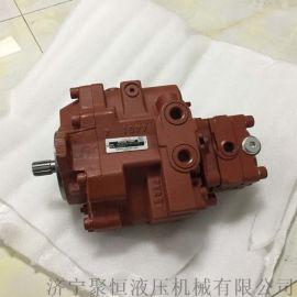 挖掘机液压泵维修 日立EX55UR液压马达修理