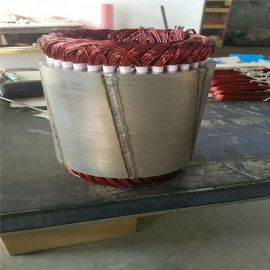 蓝润永磁三相交流发电机纯铜线圈可用于水力风力低速永磁发电机