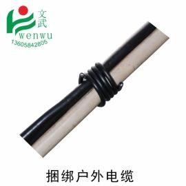 文武包装 塑包铁丝胶包铁扎丝 1.2毫米18号铁芯绑线圆形pvc铁扎带