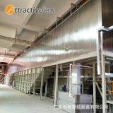 【廣東創智】五金件噴塗流水線 自動化塗裝設備 鋁型材噴漆生產線