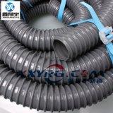 阻燃PVC塑筋增强软管,UL94VO防火吸尘管,电缆保护软管订做