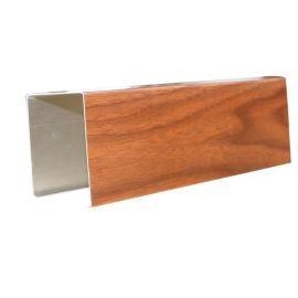 厂家铝方通50底*100高木纹铝方通吊顶材料定制
