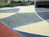 推進城市生態透水地坪建設,共建海綿城市新型生態環境,藝術透水道路多孔透水地坪