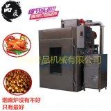 烧鸭烧烤熟食烟熏炉 豆制品加工烟熏机器 大型食品厂熏鸡烟熏炉